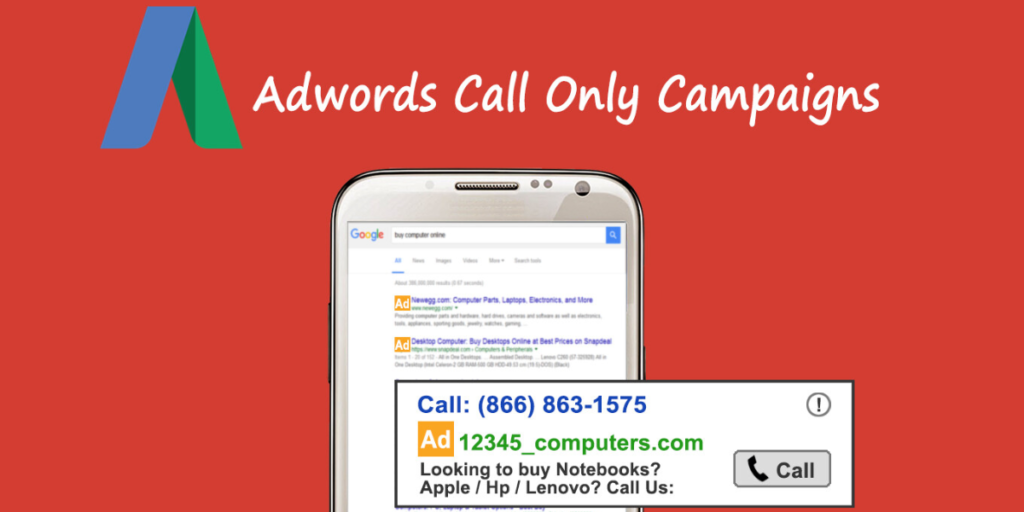 travel call and search campaign
